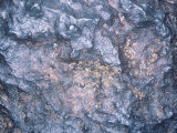 Close-Up View of a Nickel-Iron Meteorite
