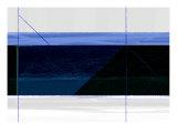 Bleu profond Reproduction d'art par NaxArt