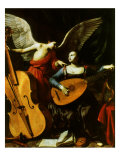 Saint Cecilia and the Angel  1600