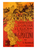 La Boh&#232;me Poster  1895