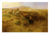 The Buffalo Hunt No2  1900