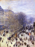 Boulevard Des Capucines  1873
