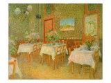 Restaurant Interior  1887