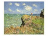 Cliff Walk at Pourville, 1882 Giclée par Claude Monet