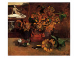 Still Life with Sunflowers  1901
