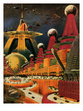 Sci Fi - Future Atomic City  1942