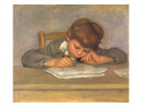 The Artist's Son Jean Drawing  1901