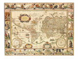 Early World Map 1630