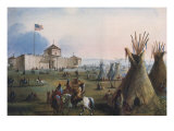 Sioux at Ft Laramie  1837