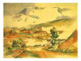Mont Sainte-Victoire  1887