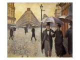 Paris Street; a Rainy Day  1877