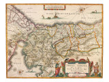Map of Palestine 1629
