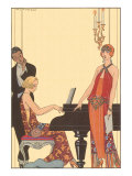 Woman Playing Piano  1922