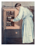 Scientist in Lab  1912