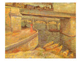 Bridges at Asnières  1887