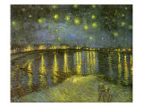 Starry Night on Rh&#244;ne  1888