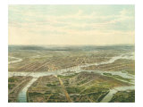 View of Saint Petersburg  1870