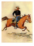 A Cavalry Officer  1901