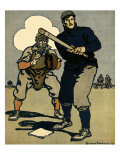 Batter and Catcher  1902