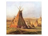Tepees on the Plain  1833