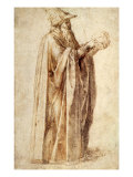 Philosopher Holds Skull  1502