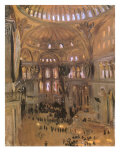 Sketch of Santa Sophia  1891