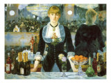 Bar at the Folies-Bergère  1881