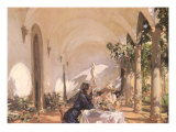 Breakfast in the Loggia  1910