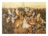 Rabbit and Fairies  1880