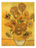 Vase with Sunflowers  1889