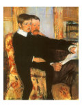 Portrait of Mr Alexander J Cassatt and His Son  Robert Kel  1884