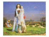 Pretty Baa-Lambs  1851