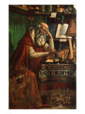Saint Jerome  1480