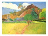Tahitian Landscape  1891