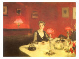 The Dinner Table at Night  1884