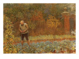 Gardener and Cabbages  1870
