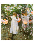 Chinese Lanterns  Girls  1885