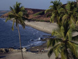 Chapora Fort and Beach  Goa  India