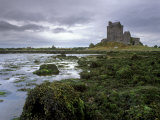 Dunguaire Castle and Coast  Near Kinvarra  County Galway  Connacht  Republic of Ireland