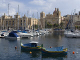 Three Cities  Malta  Mediterrranean  Europe