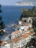 Seaside Town of Sorrento  Near Naples  Campania  Italy  Mediterranean  Europe