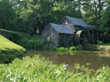 Mabry Mill  Restored and Working  Blue Ridge Parkway  South Appalachian Mountains  Virginia  USA