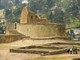 Ceremonial Plaza and the Temple of the Sun  Ingapirca  Canar Province  Southern Highlands  Ecuador