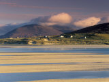 Luskentyre Bay  Tidal Area at Low Tide  South Harris  Outer Hebrides  Scotland  United Kingdom