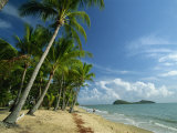 Palm Cove with Double Island Beyond  North of Cairns  Queensland  Australia  Pacific