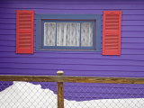 House Detail  City of Leadville  Rocky Mountains  Colorado  United States of America  North America