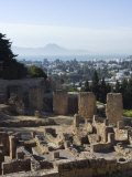 Byrsa Hill  the Original Punic Site at Carthage  UNESCO World Heritage Site  Near Tunis  Tunisia