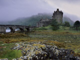 Eilean Donan Castle  Standing Where Three Lochs Join  Dornie  Highland Region  Scotland  UK