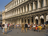 Cafe Florian  Piazza San Marco  Venice  Veneto  Italy  Europe