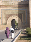 Bab Khemissa  One of the City Gates  Meknes  Morocco  North Africa  Africa